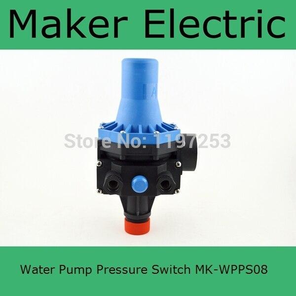 Adjusting Water Pump Pressure Switch MK WPPS08 China Factory