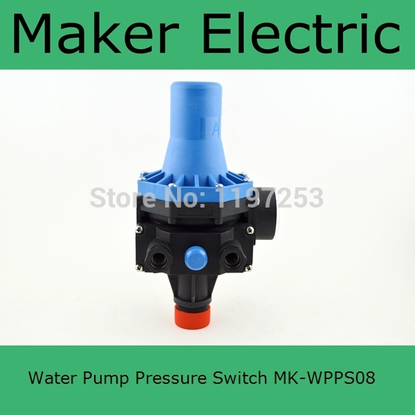 How to adjust a water pump pressure switch