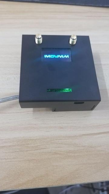 완성 된 2019 V1.3 MMDVM_HS_Dual_Hat 듀플렉스 핫스팟 + 라즈베리 파이 제로 W + OLED + 안테나 + 16G SD 카드 + 금속 케이스