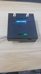 Acabado 2019 V1.3 MMDVM_HS_Dual_Hat, punto de acceso dúplex + Raspberry pi zero W + OLED + antena + tarjeta SD de 16G + funda de metal