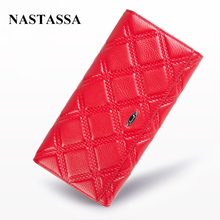 Genuine Leather Women Wallets Lady Purse Long Elegant Wallet Fashion Female Women's Clutch With Card Holder