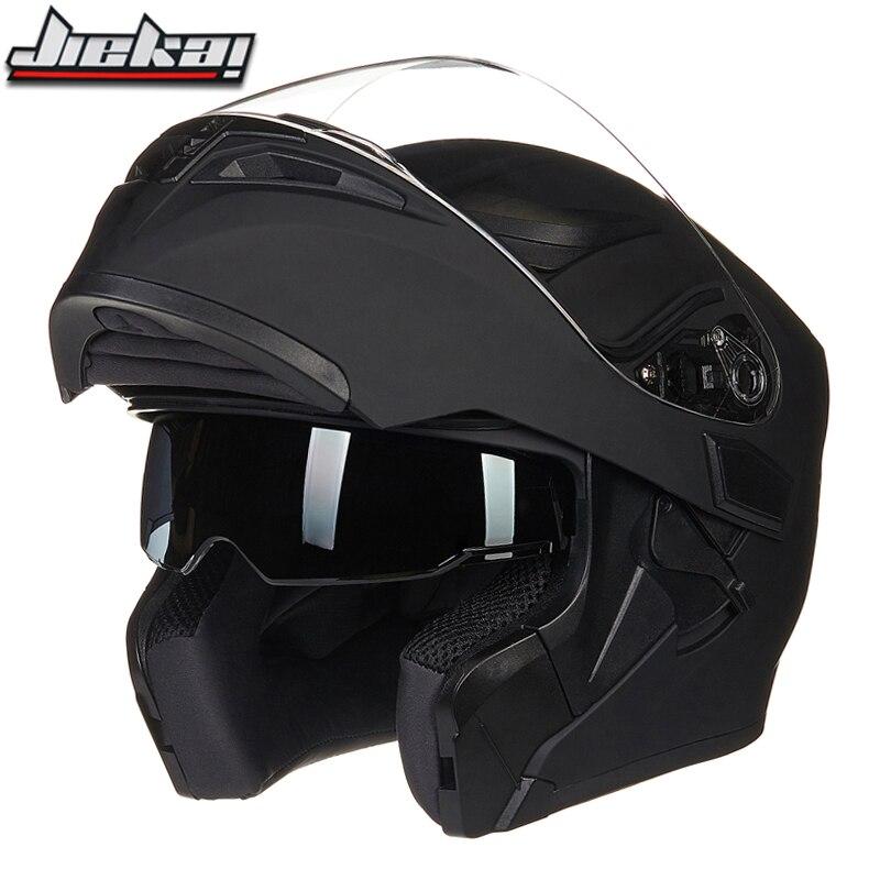 2018 Новое поступление флип мотоциклетный шлем двойной стеклянный мотоциклетный шлем Съемный и моющийся лайнер быстросъемная пряжка