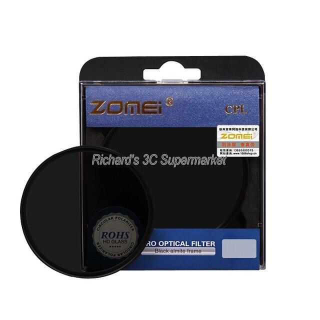 ZOMEI 52mm 55mm 58mm 62mm 67mm 72mm 77mm Optical Glass PRO Digital CPL Circular Polarizer Camera Lens Filters