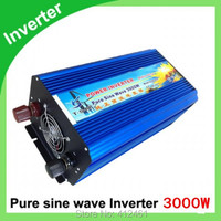 3kVA ren sinus inverter peak 6000w.12 volt 24 volt 48 volt home inverter 3000w pure sine wave inverter