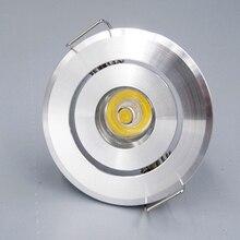 10 pz/lotto 3W Mini ha condotto la luce armadio AC85 265V mini led spot da incasso includono led drive CE ROHS lampada da soffitto mini luce