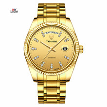TEVISE Business Automatic Watch men's mechanical watch Men Fashion Casual clock wrist watch Luminous Hands Male Wristwatch 2019 цены