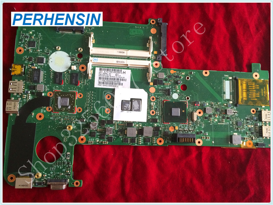 For HP For Touchsmart TM2 TM2-2100 Notebook Motherboard  i5 470UM 626505-001 100% tested good original for hp touchsmart 23 all in one pc motherboard pn 732130 002 ipshb la 100