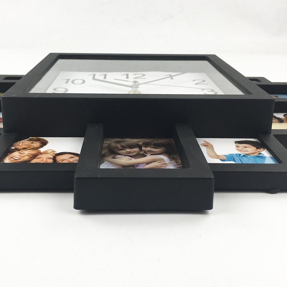 DIY Ρολόι Κορνίζα 2019 Νέο Ρολόι Τοίχου DIY - Διακόσμηση σπιτιού - Φωτογραφία 4