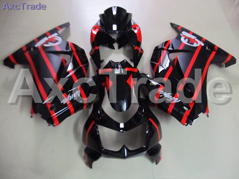 Bodywork Moto Fairings FIT For Kawasaki Ninja 250 ZX250 EX250 2008-2012 08 - 12 Fairing kit Custom Made High Quality ABS Plastic black moto fairing kit for kawasaki ninja zx14r zx 14r zz r1400 zzr1400 2006 2007 2008 2009 2010 2011 fairings custom made c549