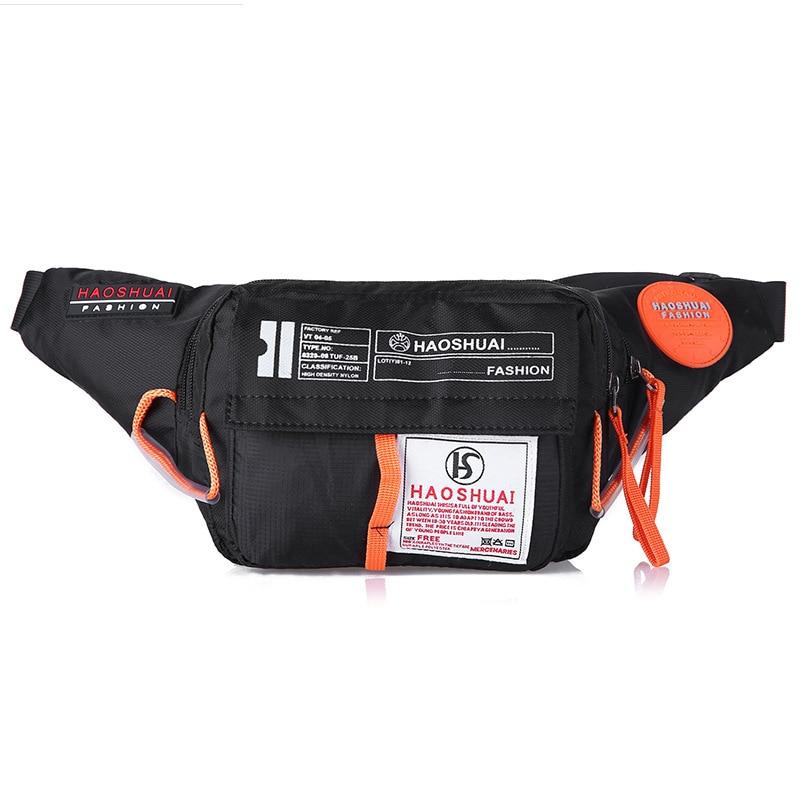 Unisex Belt Fanny Bag Purse Cell Phone Case Pouch High Quality Fashion Women Men Nylon Money Pocket Hip Bum Waist Pack Bags