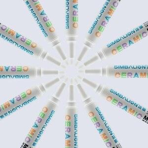 Image 3 - Simbalion 8 Colors Gốm Đánh Dấu Sơn Gốm Sắc Tố Bút Đánh Dấu Sáng Tạo Loạt TỰ LÀM Màu Gốm Bút