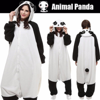 Adults Kigurumi Pajamas Cute Animal Panda Bear Cosplay One Piece Sleepwear Jumpsuit Halloween Christmas Carnival Party
