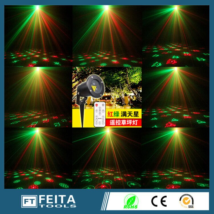 Waterproof Christmas Lights Red Green Dynamic Twinkle Outdoor Christmas Laser Lights Projector