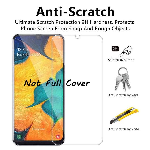 3pcs Screen Protector For Samsung Galaxy A51 A52 A72 A71 A50 A70 A21s A20e A31 A40 A32 A12 A11 S20 FE S21 Plus Tempered Glass 3