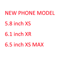 New Phone XS MAX XS XR Non Working 1:1 Size Display Dummy 5.8 inch 6.1 inch 6.5 inch Model Phone Show Model