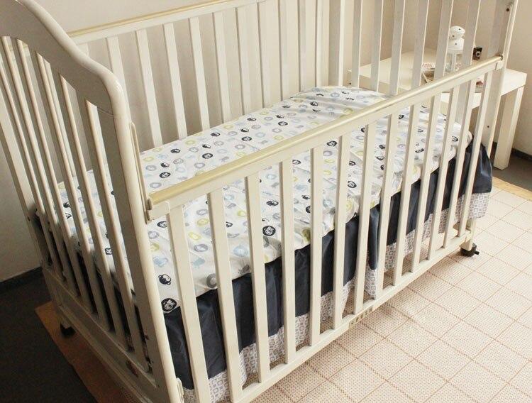 de cama do bebê pára-choques conjunto de