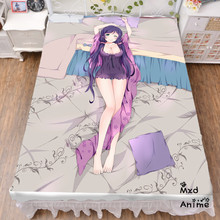 Japanese Anime Love Live Bed sheet Throw Blanket Bedding Coverlet Cosplay Gifts Flat Sheet cd042
