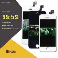 Ovsnovo 10pcs Lot LCD Screen For Iphone 5 5c 5s SE LCD Display Ecran Pantalla With