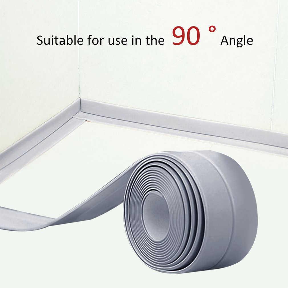 38mm * 3.2M בית מטבח אמבטיה אמבטיה קיר איטום קלטת רצועות טחב עמיד עצמי דבק כיור אגן עמיד למים