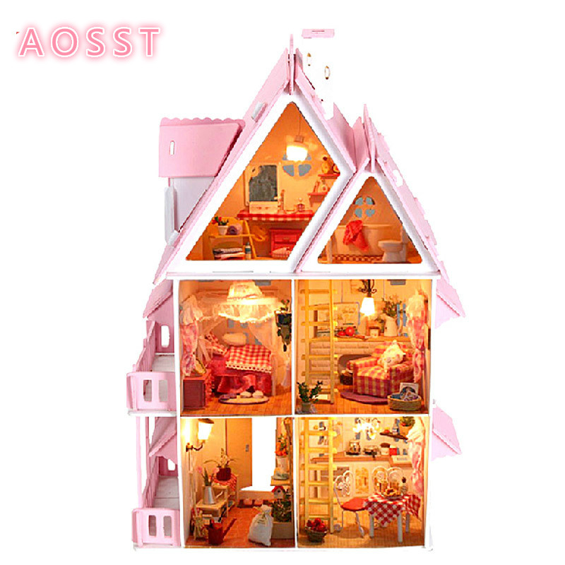 Sunshine Alice Diy Hut Large Manual Assembly Of birthday Gift Lovers House Model