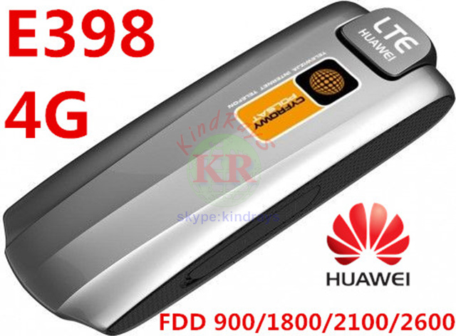 Unlocked Huawei E398 E398u-1 LTE Wireless Modem 3G UMTS Dongle 4g usb stick pk e392