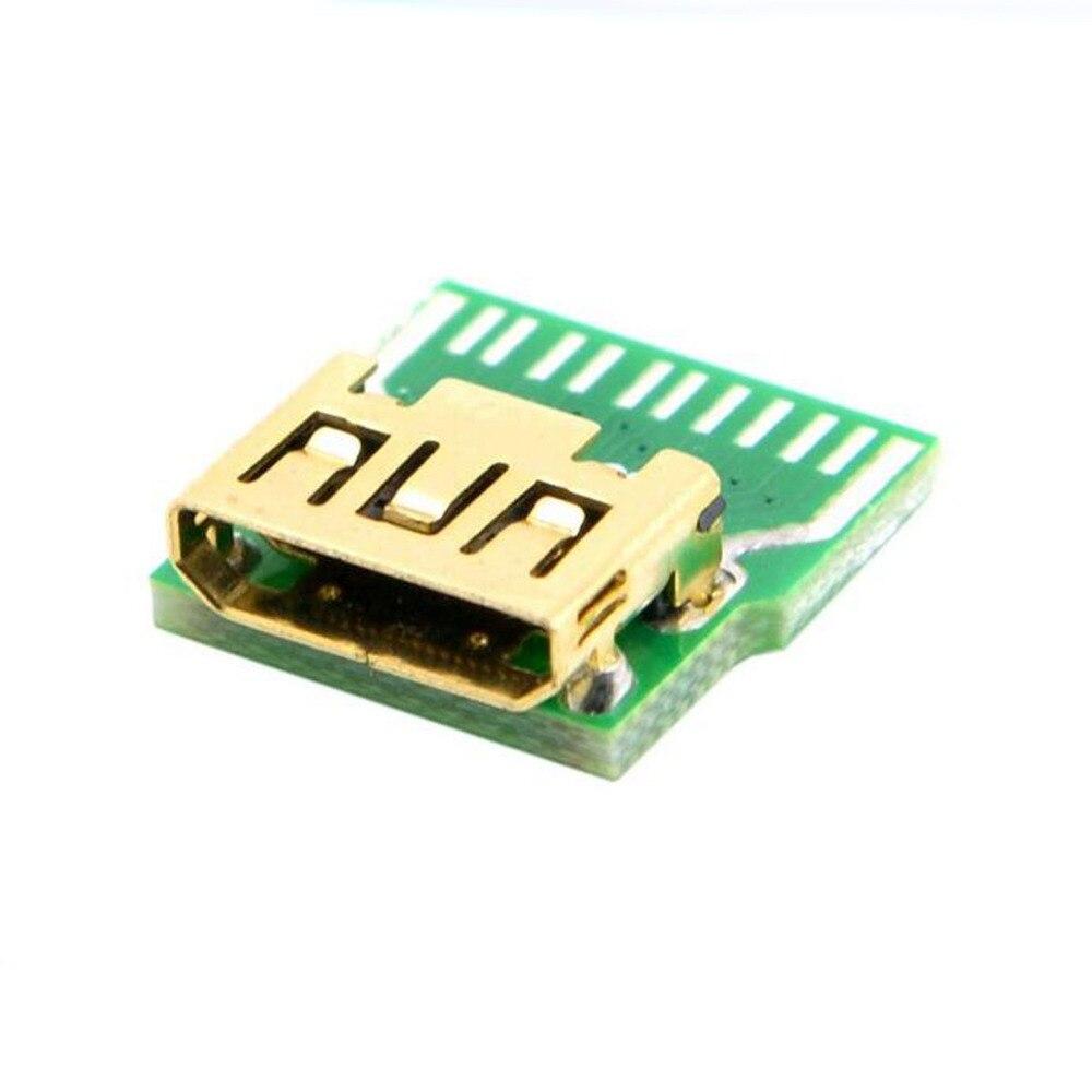 With PCB board MINI HDMI test female connector Mini HDMI female socket