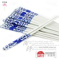 Jingdezhen porcelain ceramic traditional specialty products chopsticks antibacterial Single and Double red boxed Specials