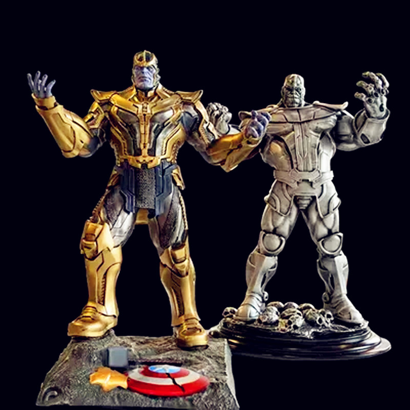 Avengers:Infinity War Guardians Of The Galaxy Supervillain Thanos  Large-scale Supervillain PVC Action Figure Model Toy G1109