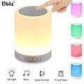 Ubit Lâmpada Toque de Luz LED Sem Fio Bluetooth Speaker Hands-free Subwoofer Cartão TF Colorido Inteligente Aliexpress Grátis