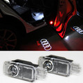 LED Door Warning Light With Logo Projector Welcome Light For AUDI A4 A3 A1 A6 A5 A7 A8 80 TT Q3 Q5 Q7 S LINE C5 C6 B5 B6 B7 S3