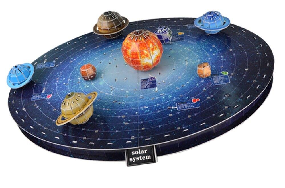3d puzzle planeten