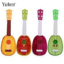 Yuker Fruit Shaped Ukulele Acoustic Guitar Kids Playing Funny Musical Instruments