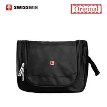 Swisswin Makeup Organizer Waterproof Toiletry Bag Travel Cosmetic Bags Hanging Bathroom Toiletry Kit For Necessaries