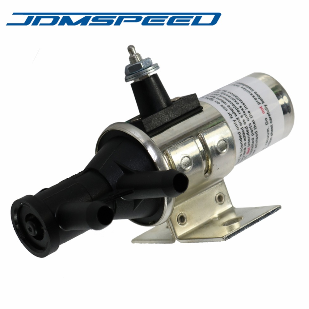 JDMSPEED New Fuel Tank Selector Switching Valve 3 Port Main Aux Gas Dual Switch For FV1T FV1