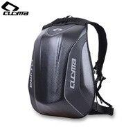 CUCYMA Motorcycle Bag Waterproof Motorcycle Backpack Carbon Fiber Motocross Racing Riding Helmet Bag Motorbike Knight Backpack