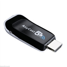 Anycast 5G Wireless WiFi Display Miracast DLAN Airplay TV Dongle For IOS Android Black