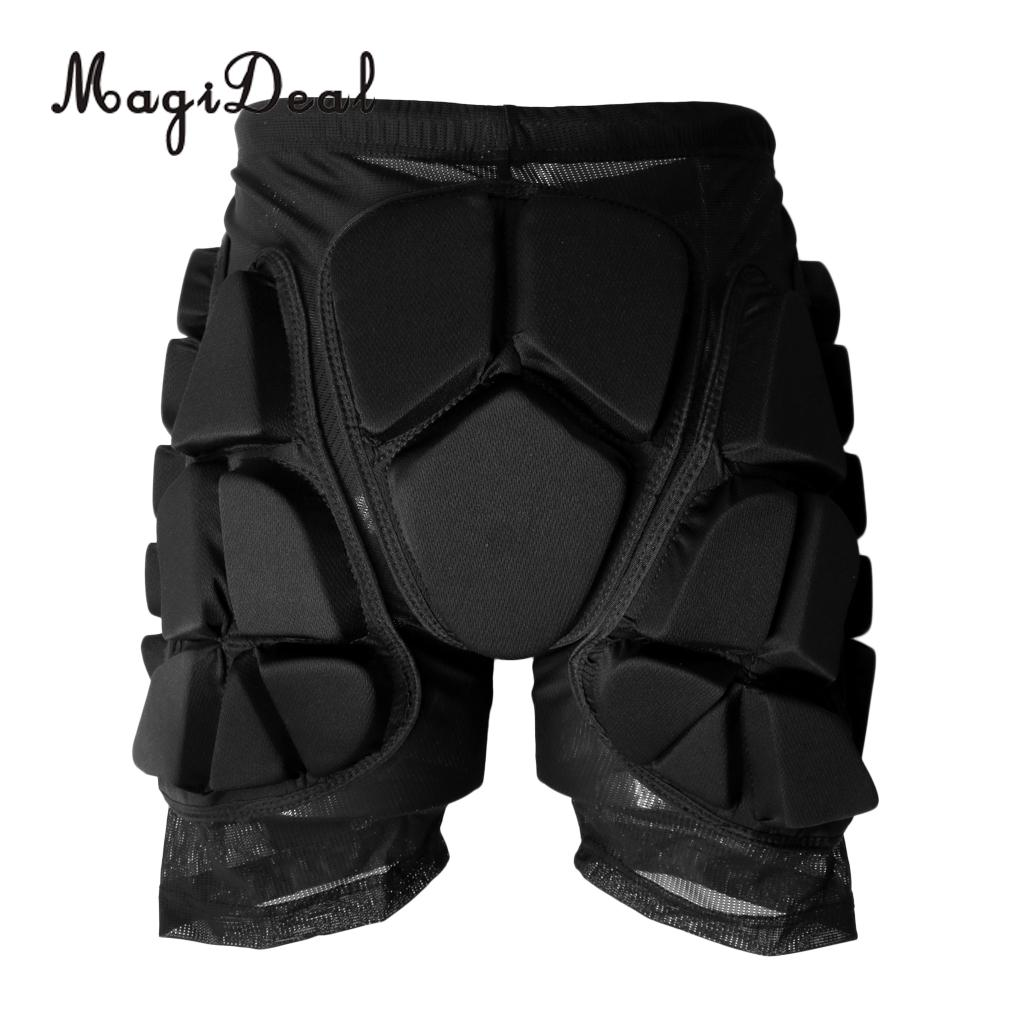 MagiDeal Kids Adults Skiing Protective Gear Hip Padded Shorts Skating Snowboard Impact Pants