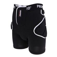 Лыжные набедренные мягкие короткие штаны Защитное снаряжение защитные ударные шорты для лыжи коньки сноуборд черные для женщин и мужчин