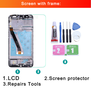 Image 2 - สำหรับ Huawei P สมาร์ทจอแสดงผล LCD Touch Screen Digitizer สำหรับ Huawei P Smart LCD กรอบ FIG LX1 L21 l22 หน้าจอ