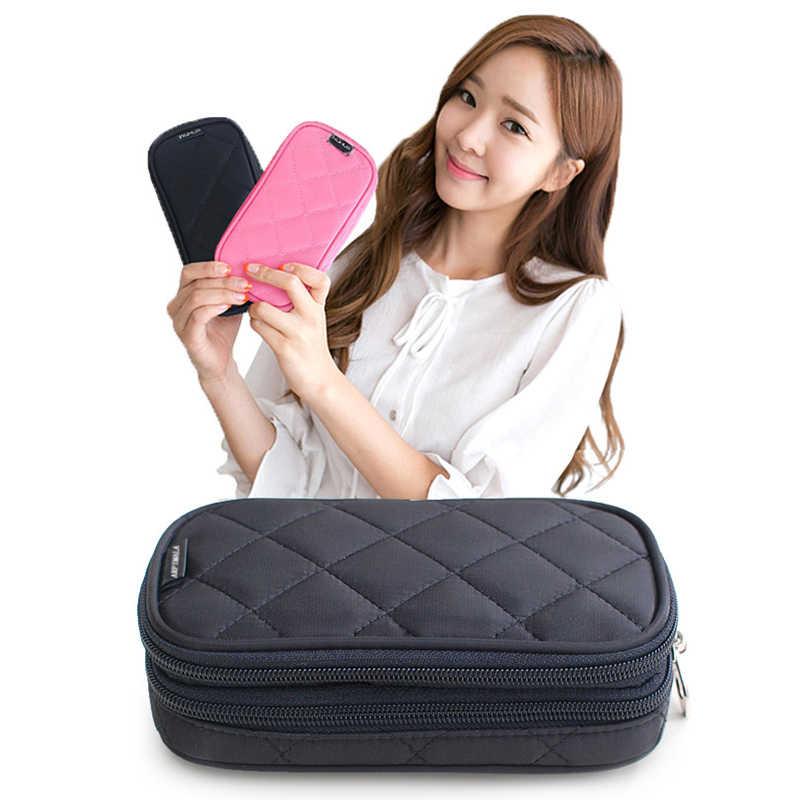 ARPIMALA torby kosmetyczne kosmetyczka kobiety organizator podróży profesjonalna szczotka do przechowywania niezbędne kuferek kosmetyczny kosmetyczka