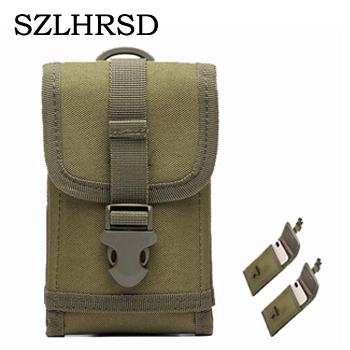 456274d895 SZLHRSD Ulefone Military Belt Pouch Bag for iPhone Xs Max XR X 6 7 8 9 Plus  S8 S9plus