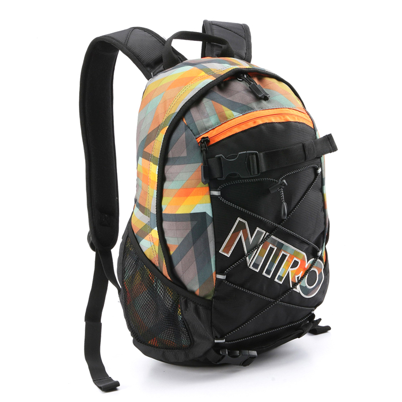 ФОТО NITRO FREE SHIPPING PATTERN BACKPACK FASHION SCHOOL BAG LAPTOP MOCHILA WATERPROFF BATOHY PLECAKI MOCHILA LAUKKU