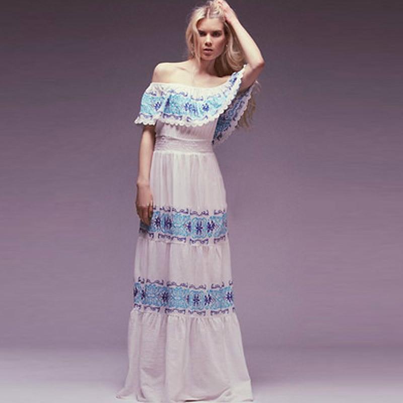 Increíble Boho Vestidos De Dama Elegante Patrón - Ideas de Estilos ...