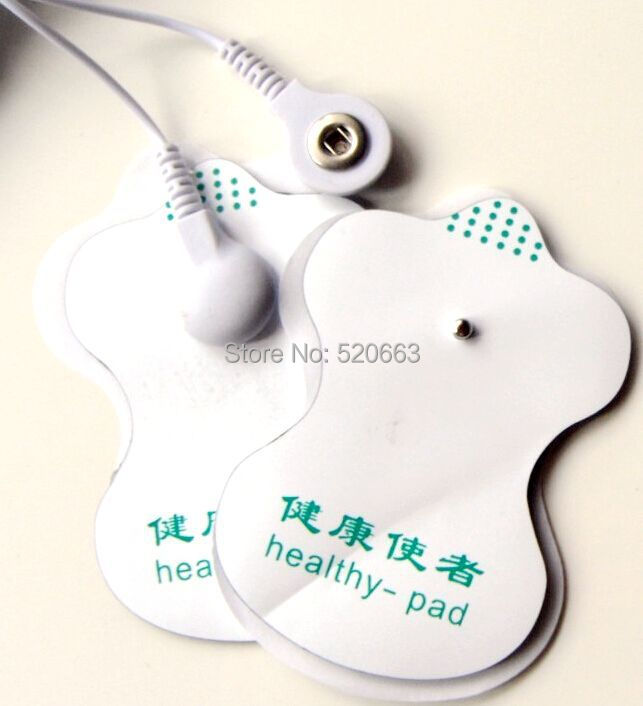 50pcs/lot Electrode Pads for Slimming massager Tens Acupuncture Therapy Machine Massager Healthy pad Patch Replacement