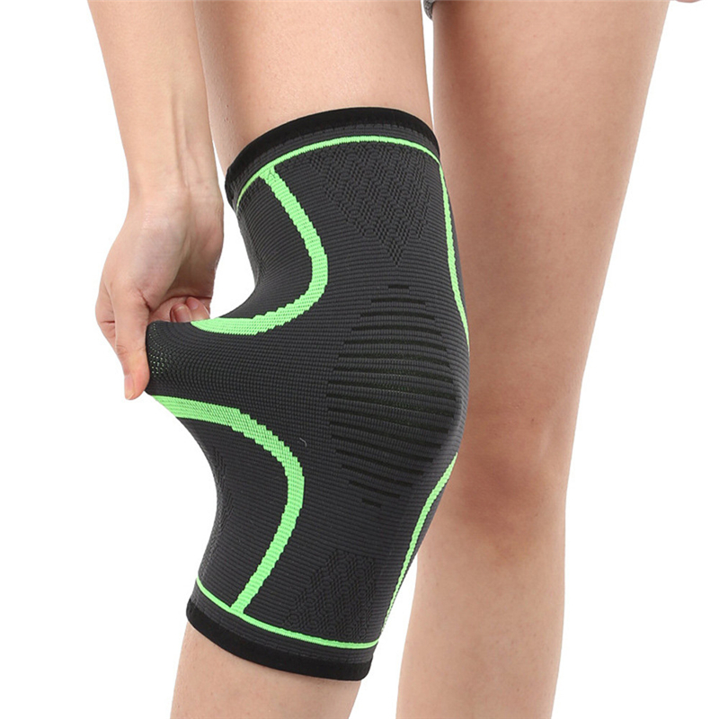 2X Knee Sleeve Compression Brace Support For Sport Joint Pain Arthritis Relief Adjustable Strap Lightweight Easy wear C0608*30