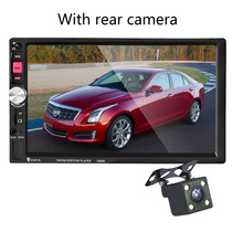 7 дюймов Сенсорный экран 7080b 2 дин mp5 плеер Авто mp4 видео плеер Радио Дистанционное управление с заднего вида Камера