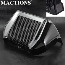 Glossy Black Oil Cooler Cover Kit With Bracket For Harley Touring Road King Street Glide Freewheeler FLHXS FLTRX FLHR 2017-18(China)