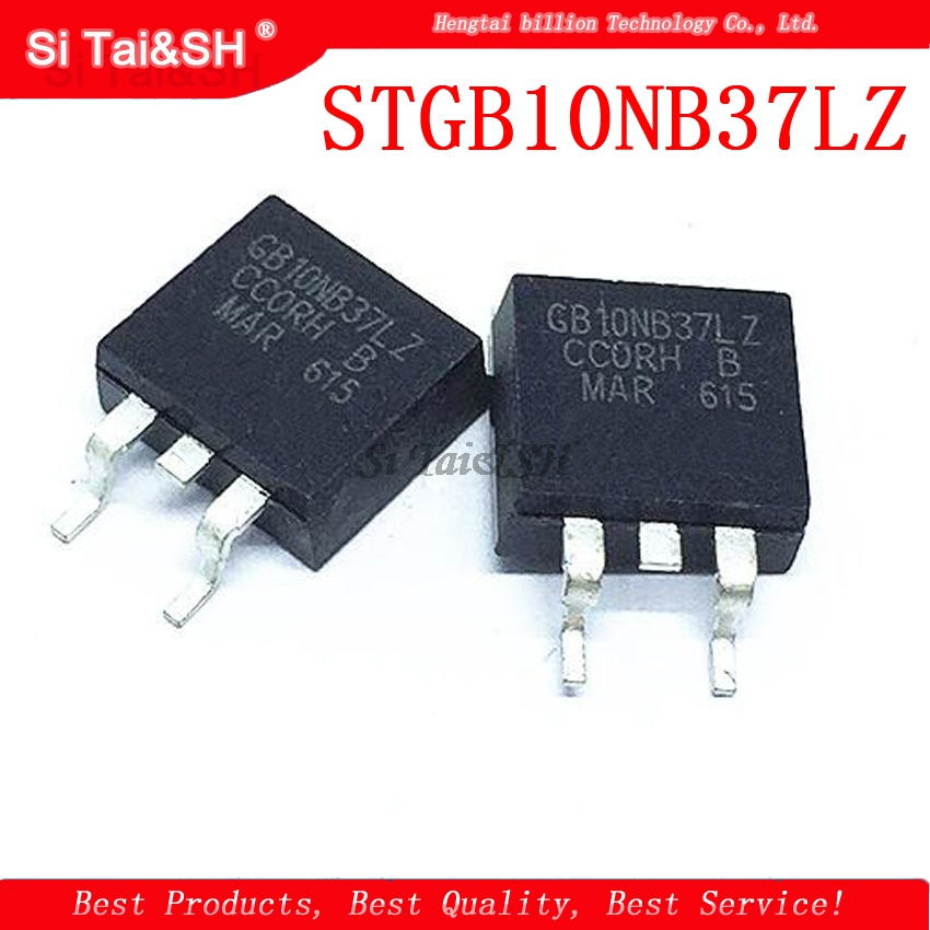 1pcs/lot STGB10NB37LZ TO-263 GB10NB37LZ TO263 STGB10NB37 Automotive Computer Board Ignition Drive Transistor IGBT Transistor