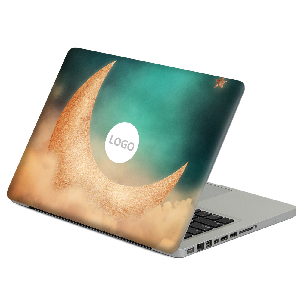 Fantasy Moon Vinyl Decal Sticker For DIY MacBook Air Pro Retina 11 13 15 inch Decal for Mac Laptop Full Cover Skin Sticker