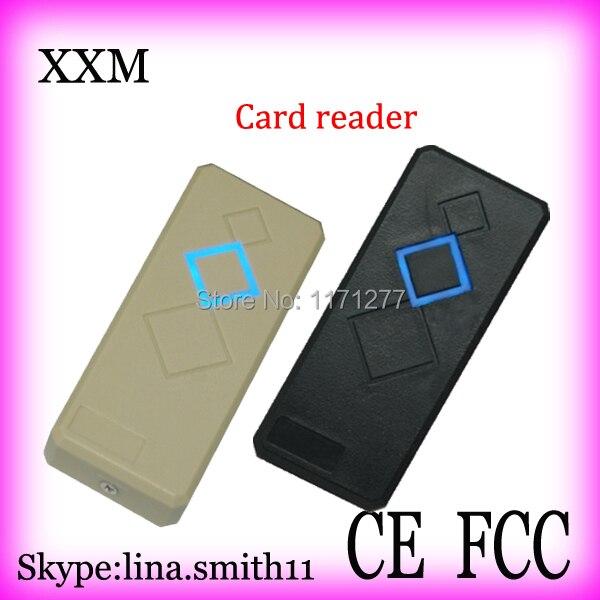Free shipping Waterproof IC Card Reader Wiegand34 Output Access Control Card Reader X008 free shipping proximity ic reader with 13 56m wiegand 26 34 output access control reader sn 08a01 ic min 1ps